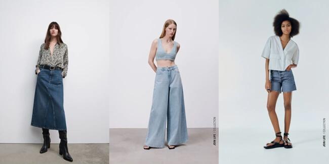 Las Prendas Vaqueras se reinventan en Zara