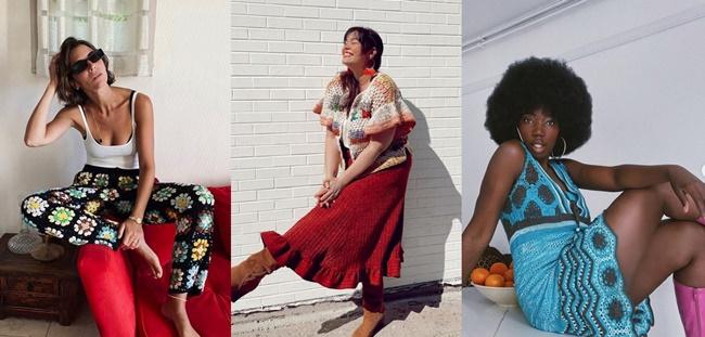 Las Prendas de Crochet se ponen de moda