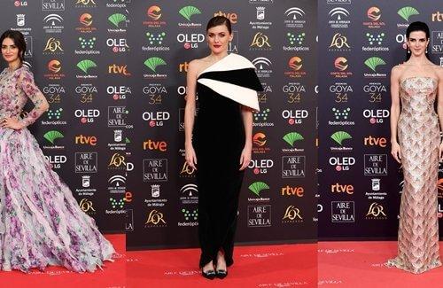 Las mejor vestidas de los Premios Goya 2020