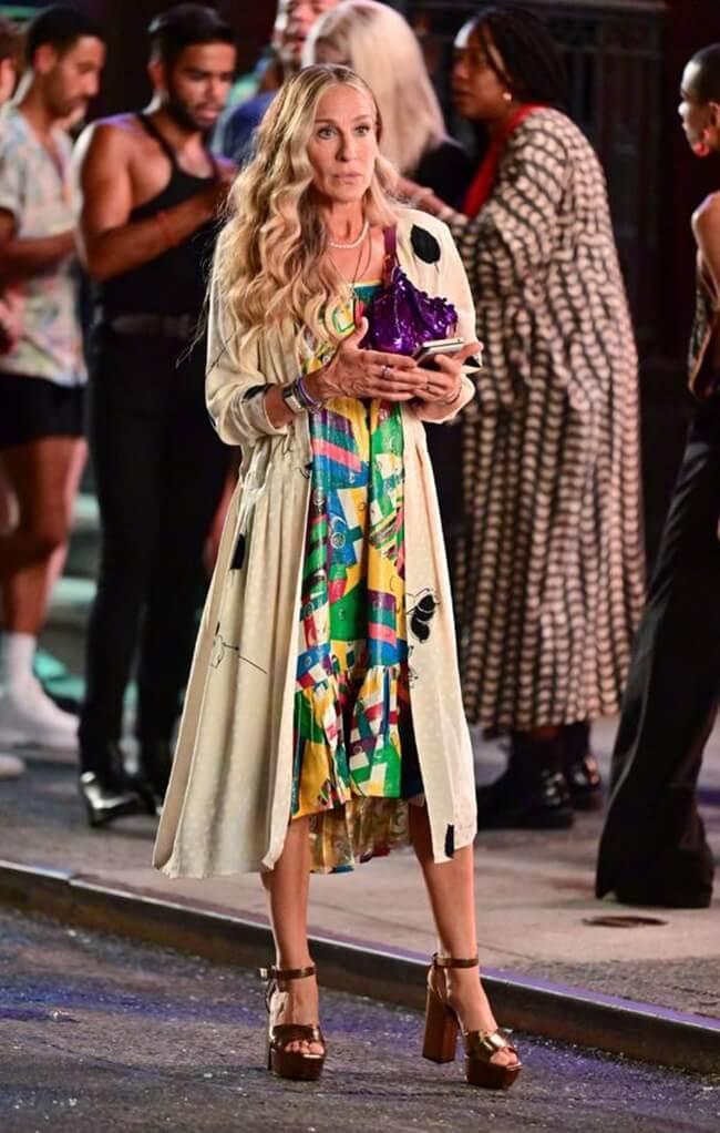 Las nuevas tendencias de Carrie Bradshaw van apareciendo