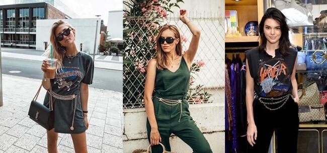 Los Cinturones de Cadena vuelven a estar de moda