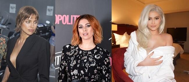 Los cambios de look de las famosas en el 2018