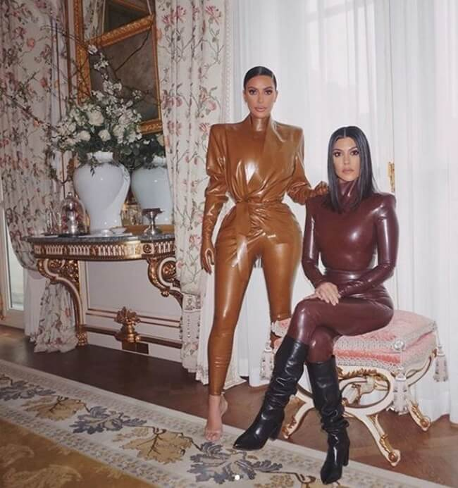 Los leggings de vinilo triunfan entre las famosas