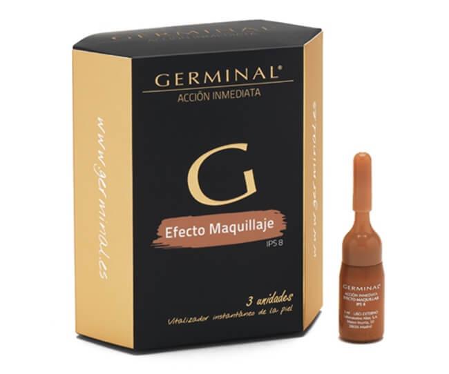 Más bella y maquillada al instante con Germinal