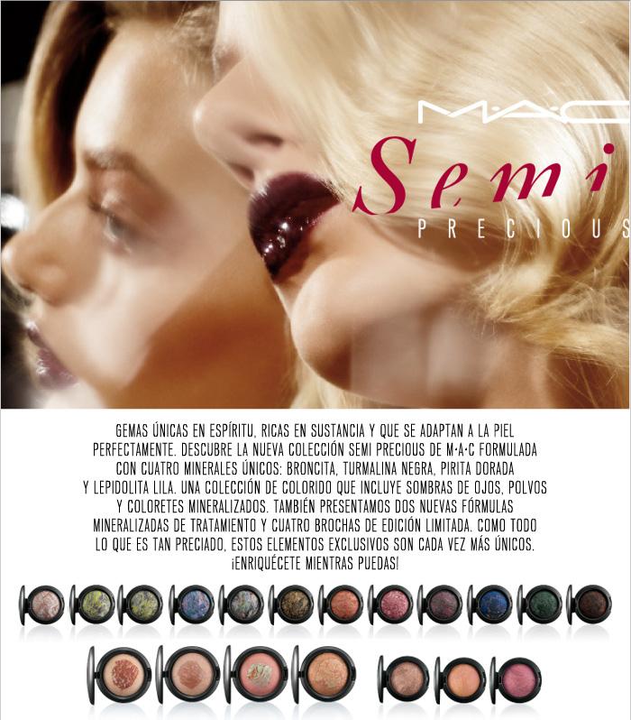 MAC Semi Precious, nueva paleta de sombras