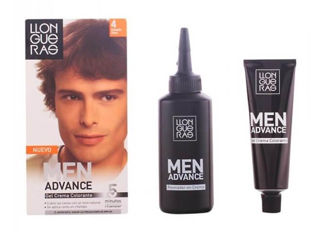 MEN ADVANCE de Llongueras, nuevo tinte especial para hombre