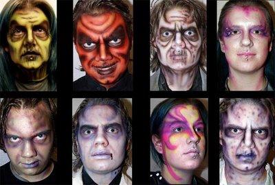 Maquillaje de Halloween 2010