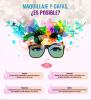 Maquillaje, novias y gafas: un trinomio posible