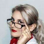 Maquillaje perfecto con gafas