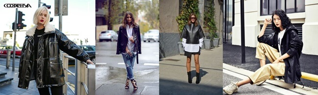 Moda urbana con mucho glamour y estilo