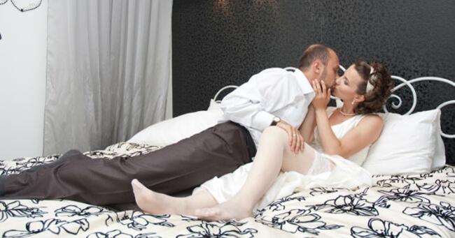 Lencería muy sensual para la noche de bodas
