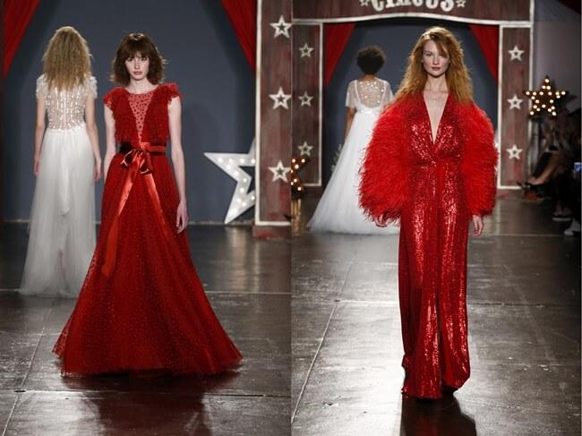 Novias de Rojo, la última tendencia
