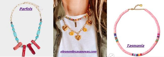Nuevas tendencias en Collares de Mujer
