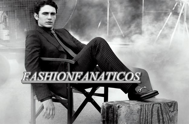James Franco imagen de la nueva campaña publicitaria de Gucci