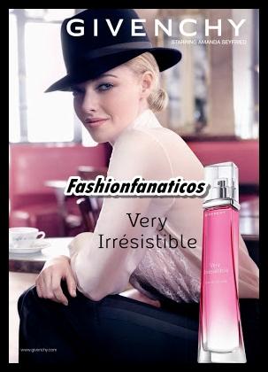 Amanda Seyfried se convierte en la nueva imagen de Givenchy