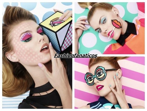 El Pop Art se traslada al maquillaje de mujer