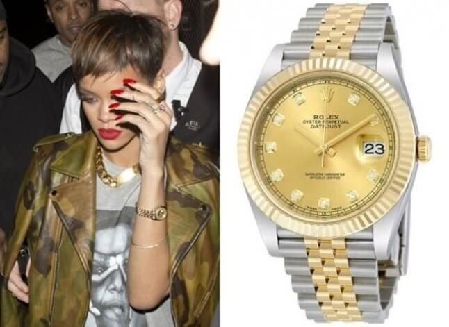 Qué relojes usan los famosos