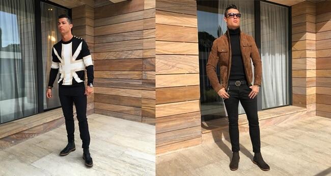 ¿Quieres lucir el mismo estilo de Cristiano Ronaldo?
