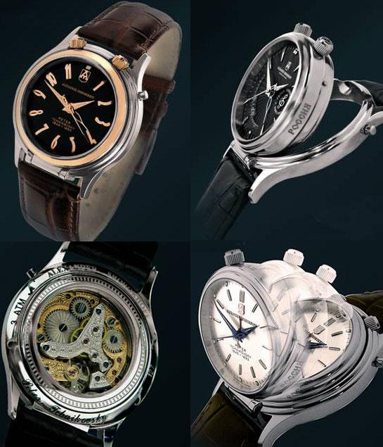 Nuevos relojes de lujo de Alexander Shorokhoff con la música de nueva línea de relojes Tchaikovsky
