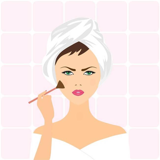 Resalta tus pómulos con el maquillaje