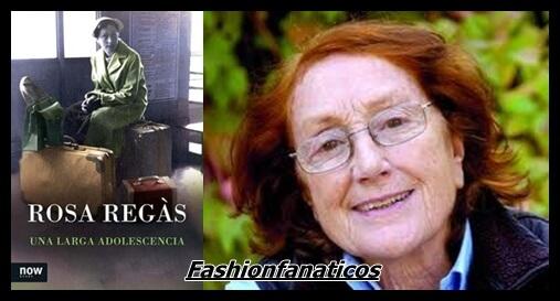 """Rosa Regàs, """"Una larga adolescencia"""""""