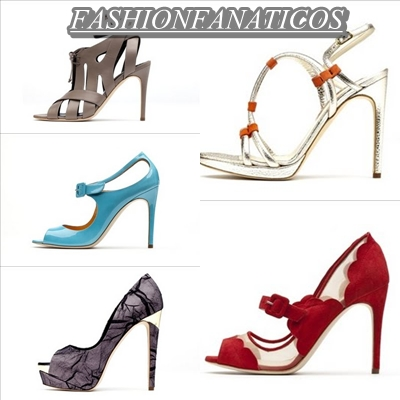 Zapatos de fiesta para la temporada Primavera-Verano 2012