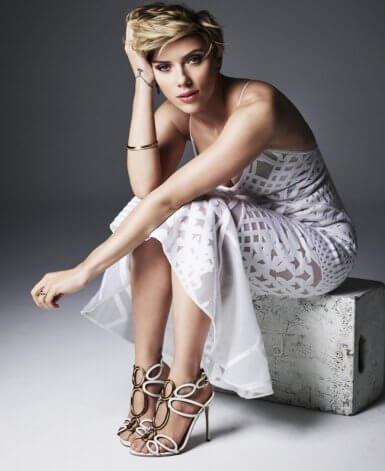 Scarlett Johansson, su evolución física con el paso de los años