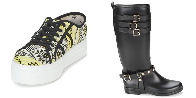 Ten muy en cuenta la forma de tus piernas, a la hora de elegir tus zapatos.