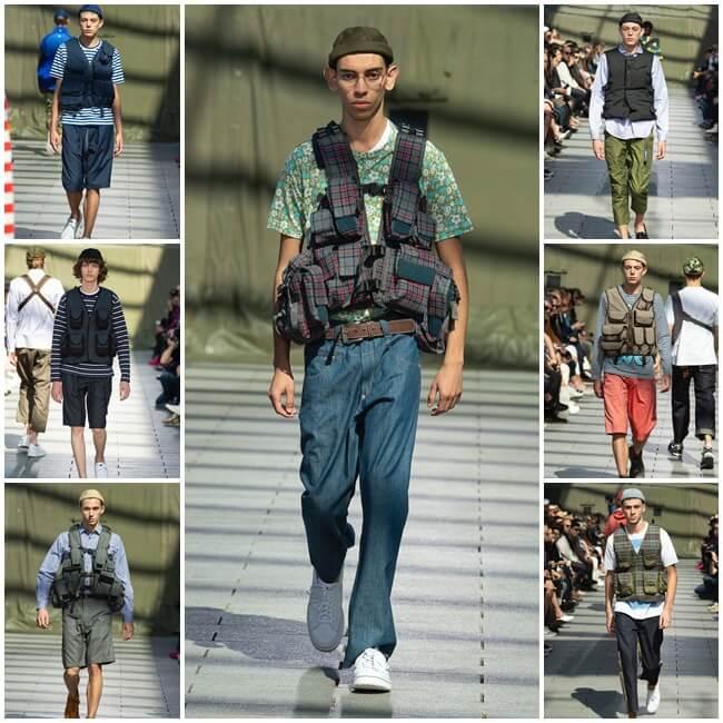 Tendencias Moda Hombre Primavera-Verano 2019 junya watanabe