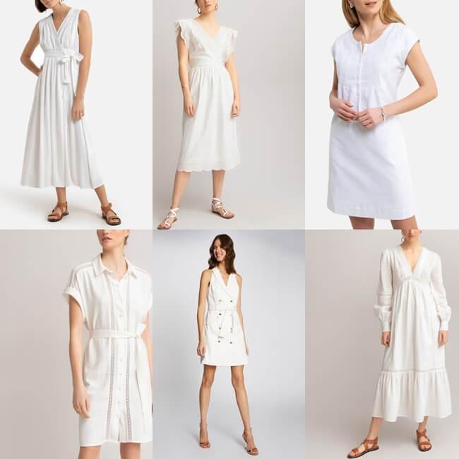 Vestidos Blancos de verano para celebrar la temporada con estilo