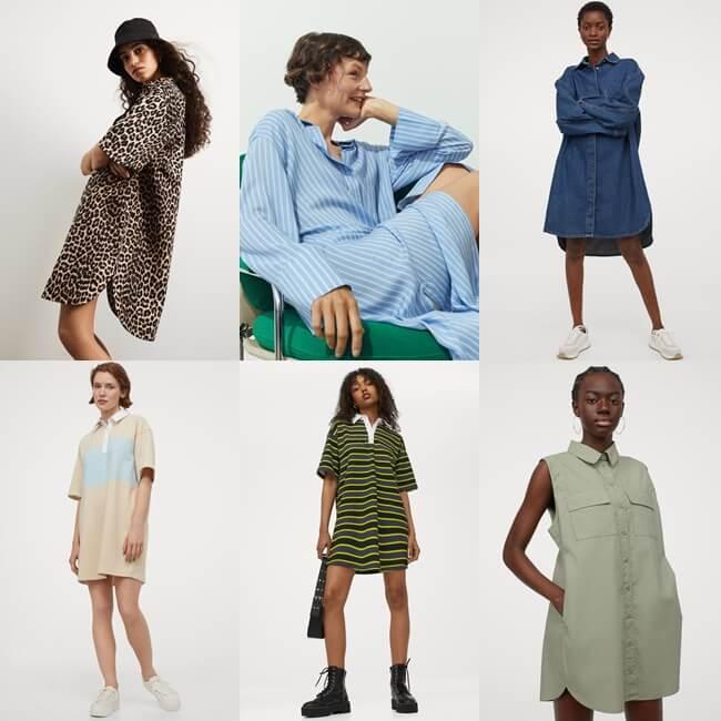 Vestidos Oversize ideales para este verano