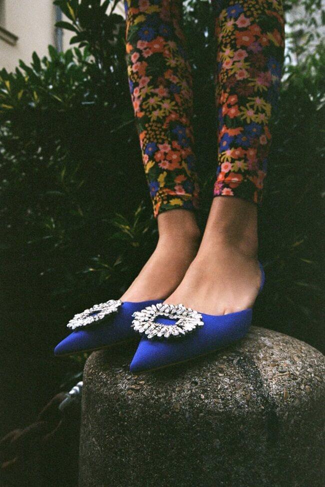 Zapatos Joya de Zara que evocan a Carrie Bradshaw