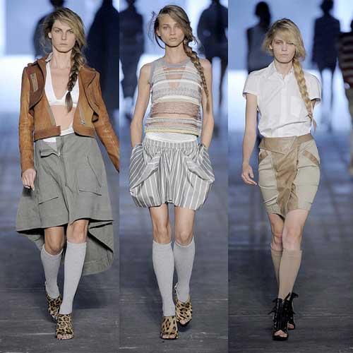 Alexander Wang en la Semana de la Moda en Nueva York