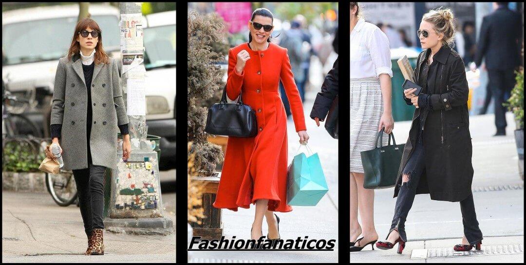 Los abrigos de las famosas, la moda más cálida