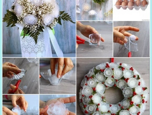 amazing-roses-with-plastic-egg-tray