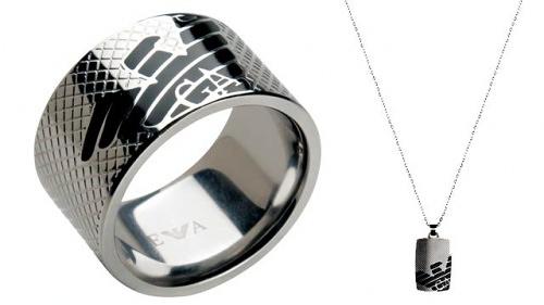 Emporio Armani, nueva colección de joyas para hombre