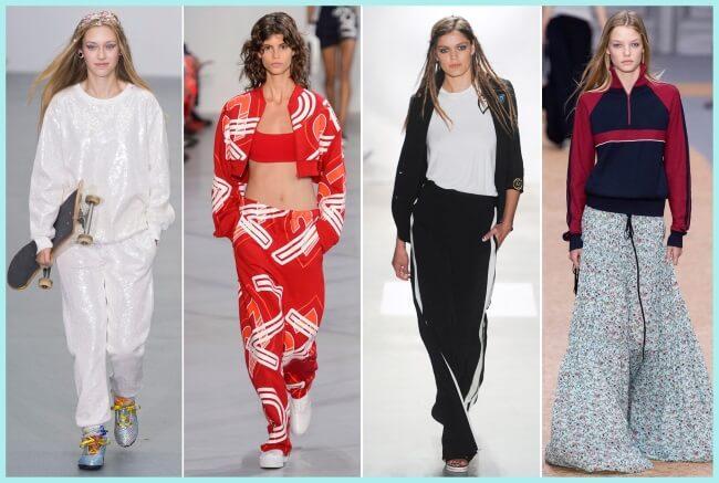 ¿Quien dijo que el chándal no es fashion?