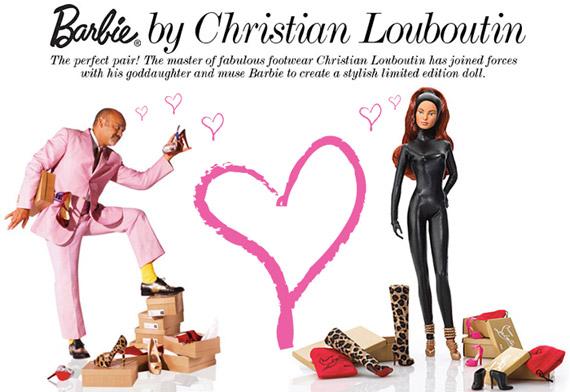 Barbie por Christian Louboutin: edición limitada