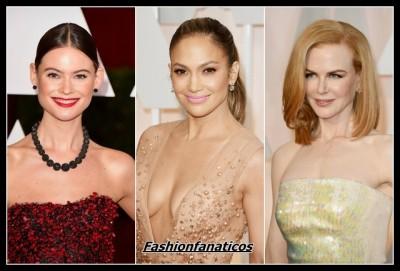 imágenes de famosas en los Premios Oscar 2015