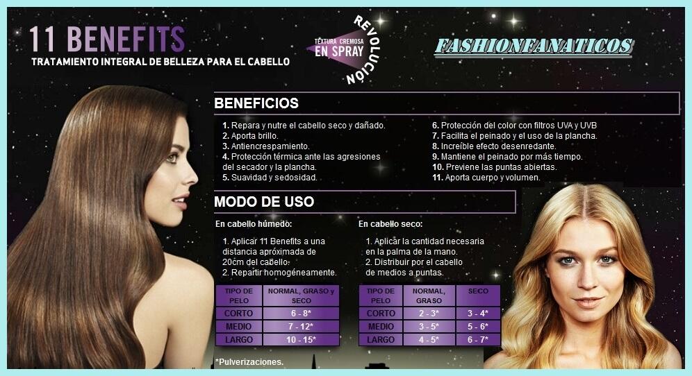 Salon Hits 11 Benefits de Revlon