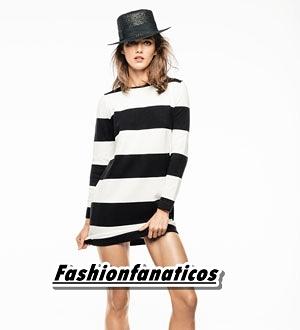Blanco y negro, el binomio de moda