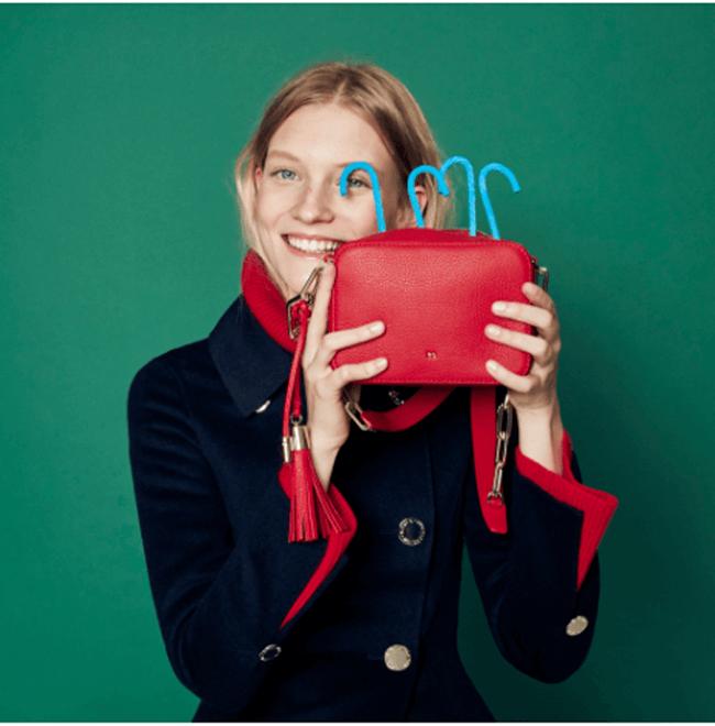 Purificación García presenta su nueva colección de bolsos