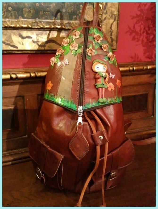 mochila de Sylvia López Morant