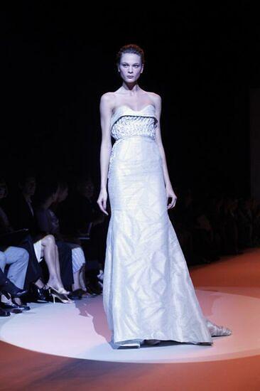 Carolina Herrera en la Semana de la Moda de Nueva York