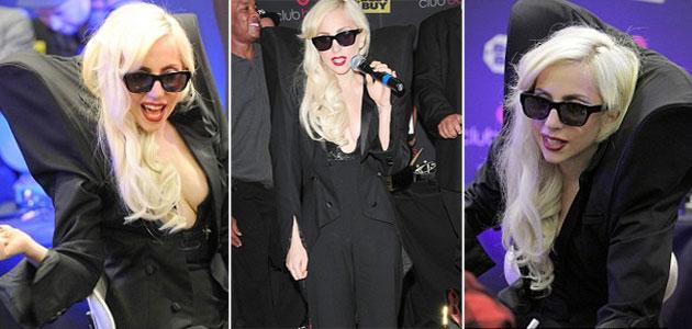 Lady Gaga lanza nuevo disco con un look muy atrevido