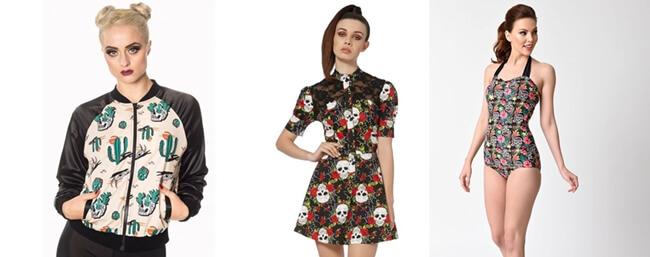 Tendencias Moda: Las Calaveras se imponen en todos los looks