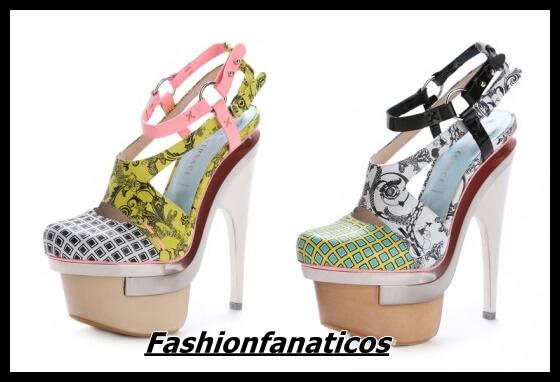 Versace primavera/verano 2010 de calzado