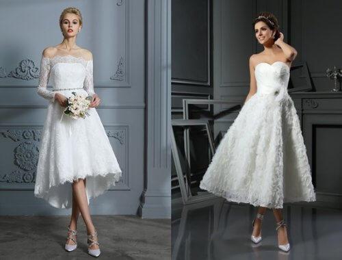 Últimas tendencias: casarse de corto