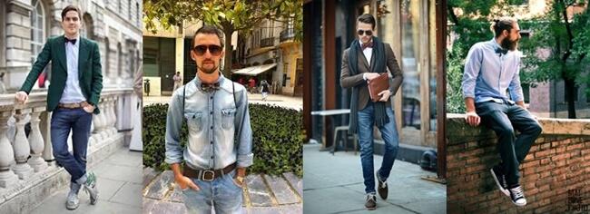 Las pajaritas más de moda que nunca