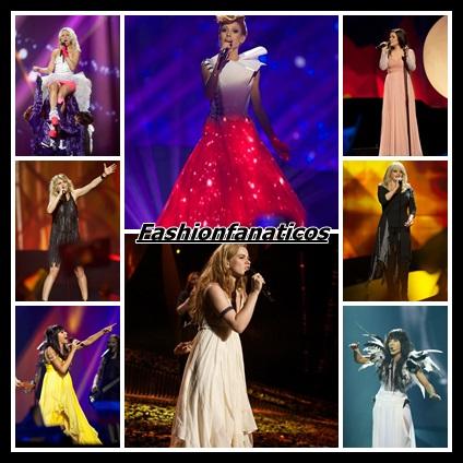 Los vestidos de Eurovisión crean tendencia